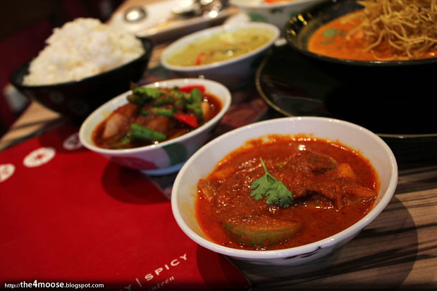 Sweet Salty Spicy - Roast Duck Red Curry
