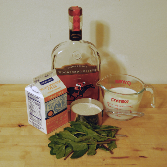 Mint Julep Ice Cream | There Will Be Bourbon