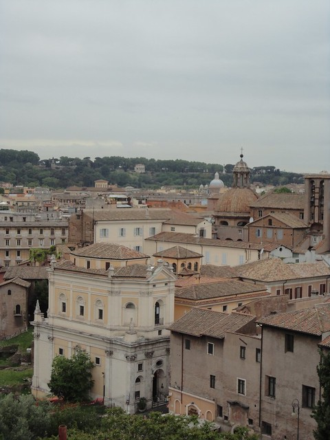 View from Musei Capitolini