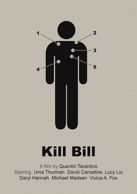 Kill Bill - simplified movie poster (corr. version)