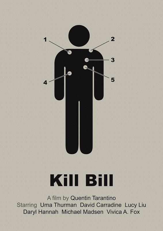 Kill Bill - simplified movie poster (corr. version)