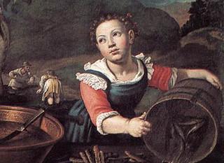Vicenzo Campi: The Fishmongers, 1580's Pinacoteca di Brera, Milan