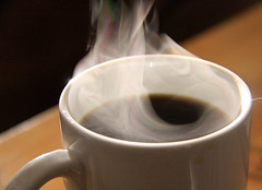 Coffee Steam by Waferboard (flickr)