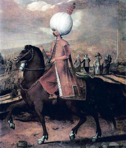 Hans_Eworth_Osmanischer_Wurdentrager_zu_Pferd.1549