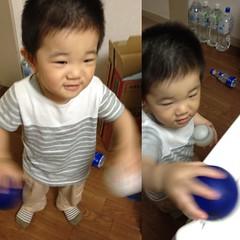 ボールで遊びます (2012/6/22)