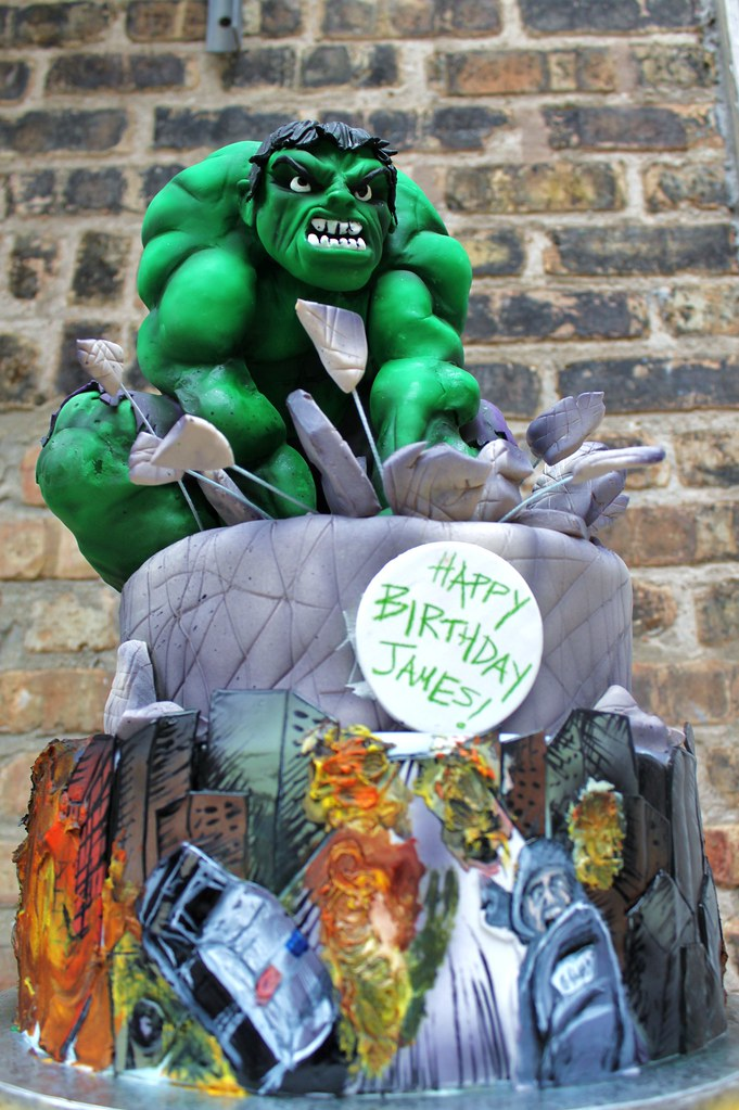 Hulk Cupcake Ideas http://www.alliance-bakery.com/tiered/