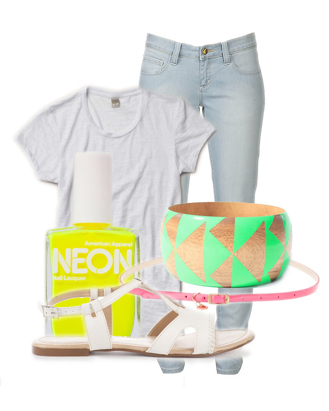 fair vanity, fair trade, fashion blogger, neon, rachel mlinarchik