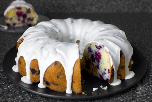summer berry buttermilk bundt