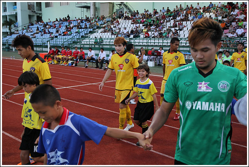 Phuket and Chanthaburi Teams Enter the Field