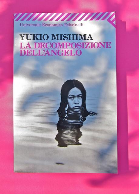 Yukio Mishima, La decomposizione dell'angelo. Feltrinelli 2012. Art director: Cristiano Guerri. In cop.: ©Araki. Copertina (part.), 1