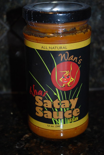 Wan's Vegan Satay Sauce