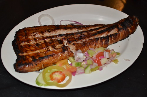Grilled Tuna Belly - Taklobo Restaurant - Jack's Ridge Resort & Restaurant | Sooo Pinoy Food Trip na Pilipinas in Davao City