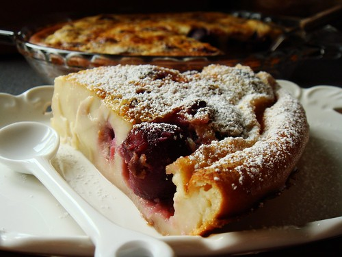 Cherry Clafoutis Surprise