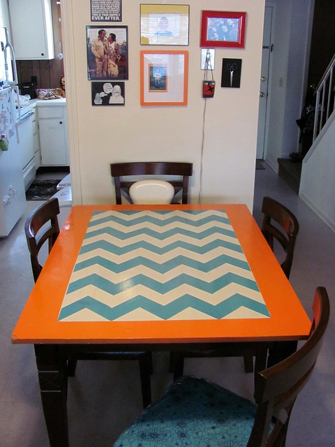 My moment: My dining room.
