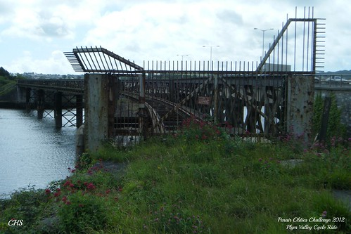 Photo 32 - Laira Bridge; old L&SWR railway bridge by Stocker Images