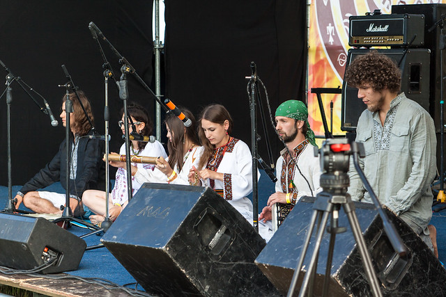 Ukrainian ethno music band