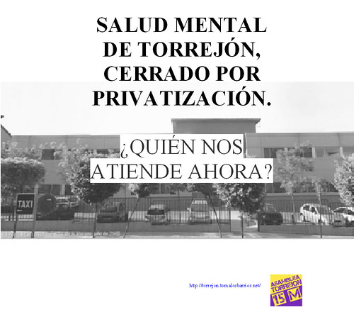 Salud Mental - Cerrado por privatización