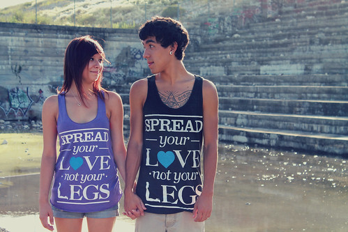 Spread your love not your legs