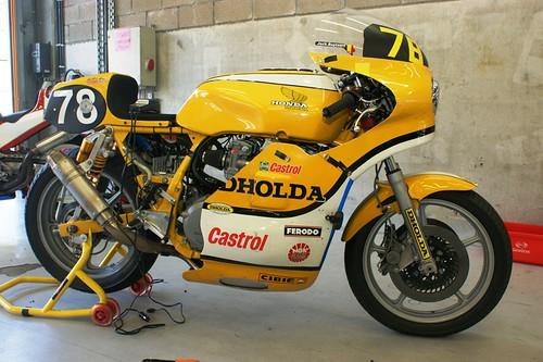 Honda-Dholda CBR1100 (Dholda Classics Racing, Maurice Cock & Jack Buytaert)