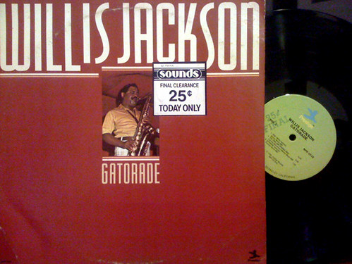 Willis Jackson - Gatorade cover & record