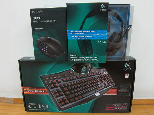 Logitech Gaming Products