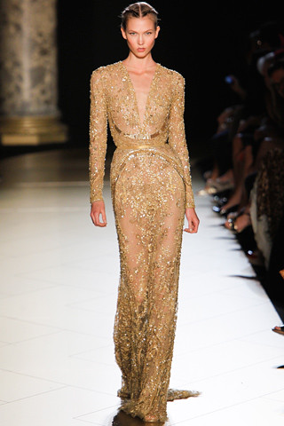 Elie-Saab-Couture-Fall-2012 45 Karlie Kloss (NEXT)