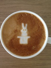 Today's latte, Eudora.