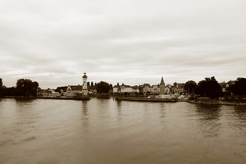 The island of Lindau.