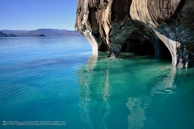 Reserva nacional cavernas de marmol lago general carrera for Distribuidoras de marmol en chile