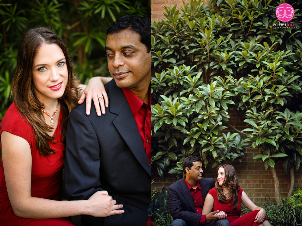 Leslie and Sam | Atlanta Botanical Garden Engagement Photography