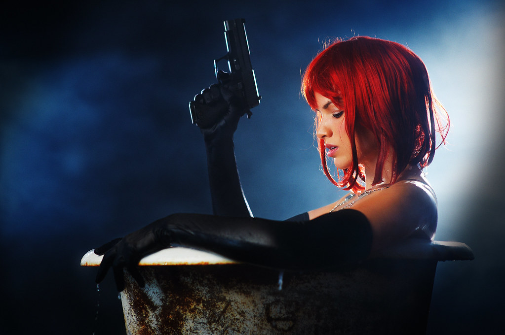 She Had Red Hair And A Gun