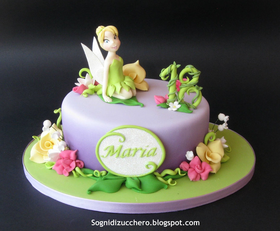 Cake Designs Tinkerbell : Tinkerbell cake - a photo on Flickriver