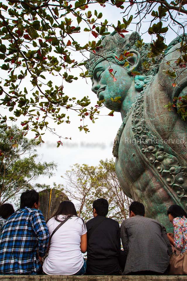 The Statue of Wisnu @ Garuda Wisnu Kencana Park (GWK), Bali, Indonesia