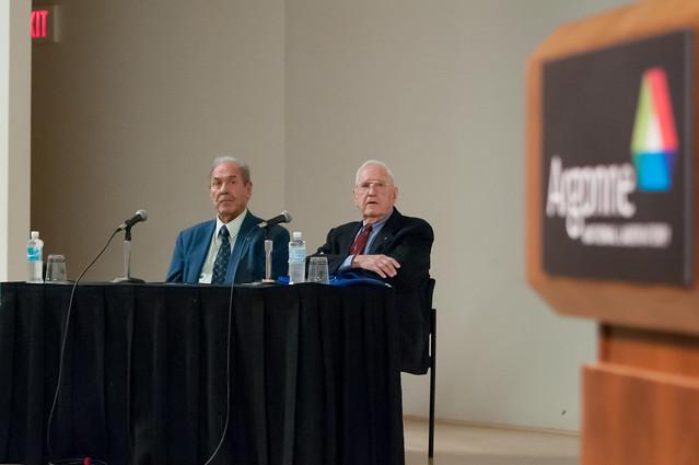 Argonne Nuclear Pioneers Len Koch and Harold Agnew