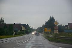 En Allemagne en direction d'Offenburg