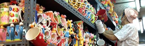 colorful cup vendor at JJ Market-2