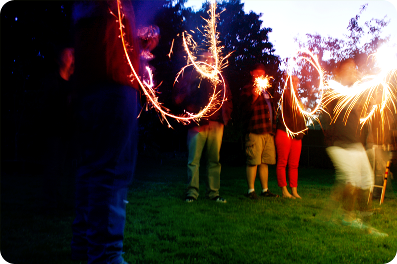 {sparklers}