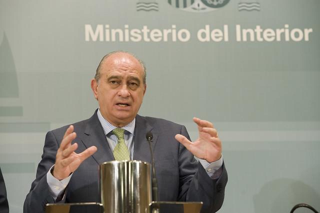 El ministro del interior jorge fern ndez d az ha recibid for El ministro del interior