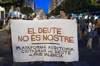 Manifestación 19J Valencia