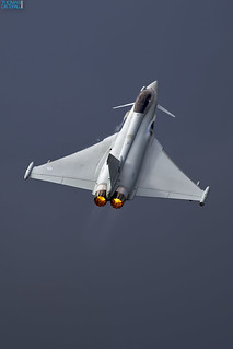 RAF 6 Sqn Eurofighter Typhoon Demo Team