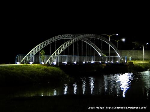 Ponte - Lagoa Manoel Caculé