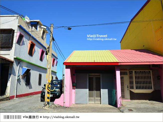 【台東新景點】台東大武彩虹街~全台最夢幻的彩色街弄!12