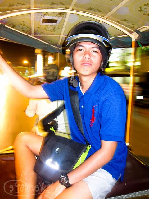 Tuktuk Ride at Siem Reap