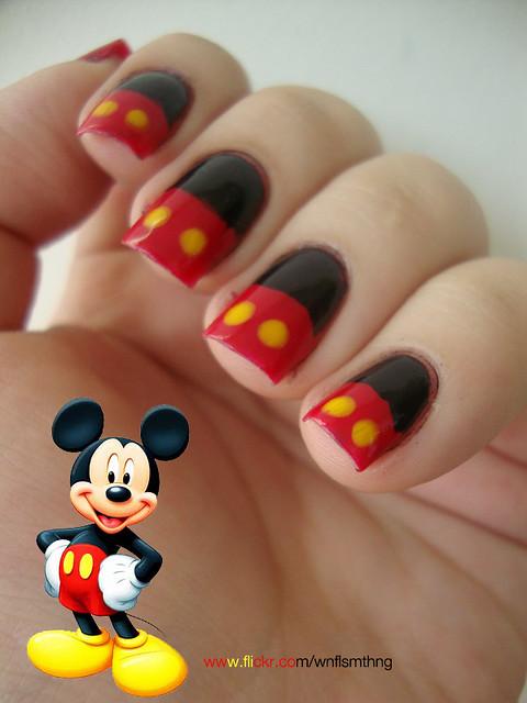 Mickey Mouse Nails | Flickr - Photo Sharing!