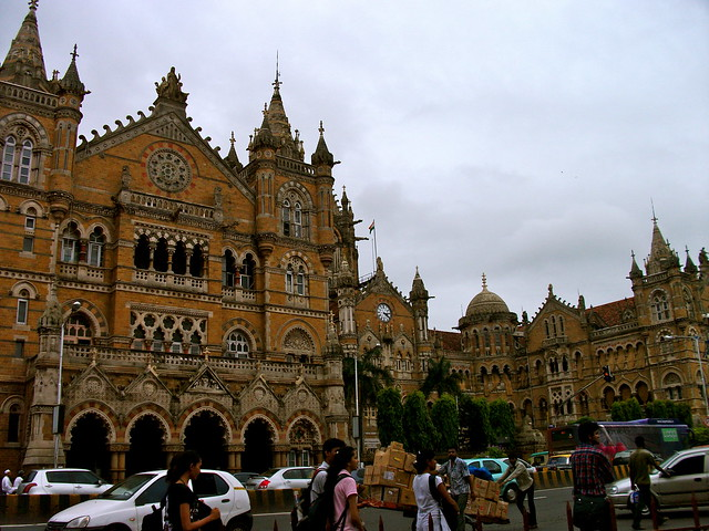 Gothic architecture of Victoria Terminus (now known as Chhatrapati Shivaji Terminus)