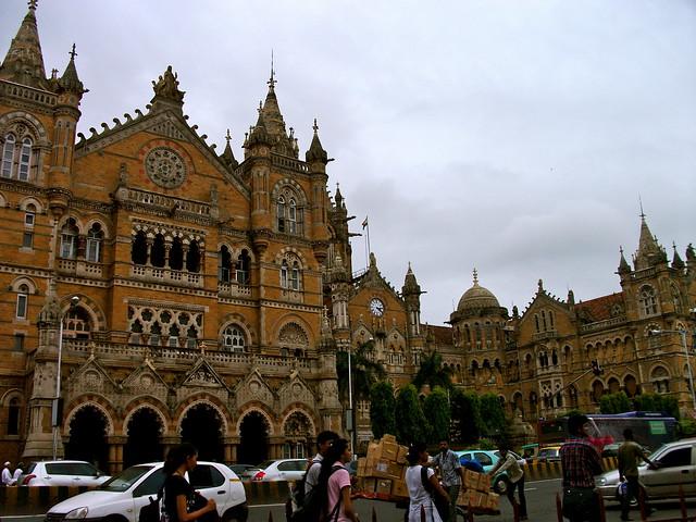 Gothic architecture of Victoria Terminus (now known as Chhatrapati Shivaji Terminus)
