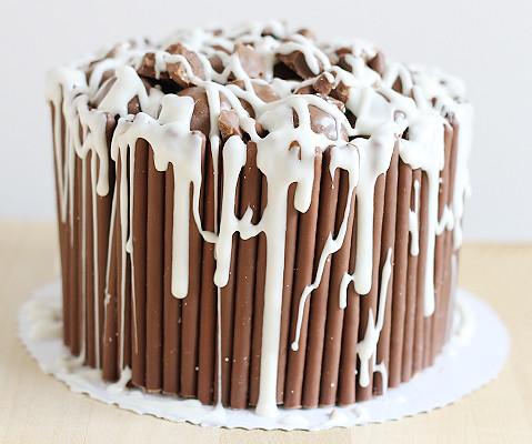 Chocolate wasted cake @yumlaut.de