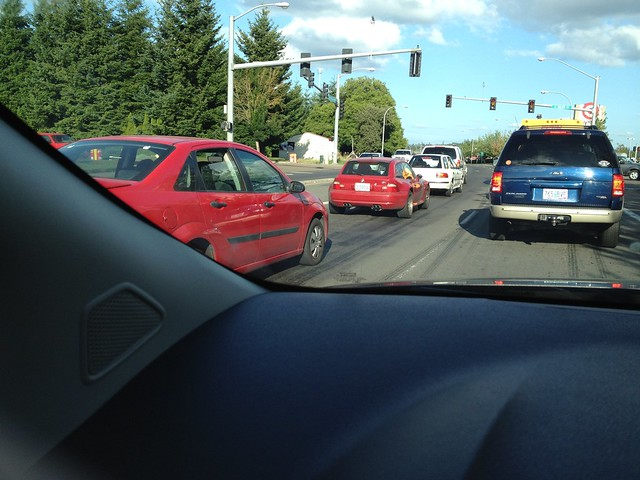 Spotted: S52B32 M Coupe | Imola Red | Imola/Black | Tualitin, Oregon