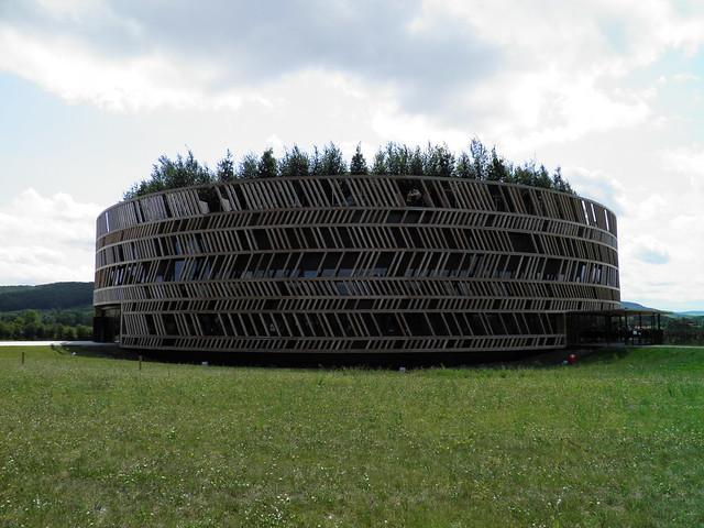 The Interpretation Centre of the Muséo Parc Alésia