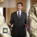 Jeremy Hunt and athletes meet the troops